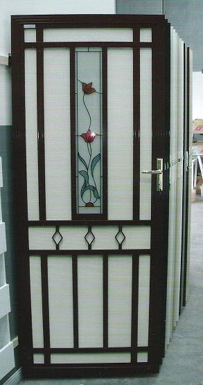Decorative Security Screen Doors : Security screen doors door decorative